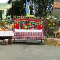 Фотозона у центрі Козина в рамках святкування Дня Незалежності України