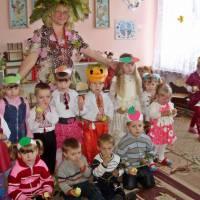 Свято осені у Іващуківському ДНЗ