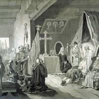 Смерть Богдана Хмельницького — малюнок Тараса Шевченка виконаний ним у 1836—1837 роках у Санкт-Петербурзі