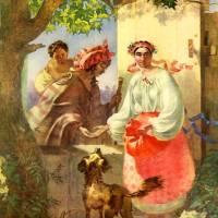 Циганка-ворожка — малюнок Тараса Шевченка виконаний ним в Санкт-Петербурзі в 1841 році. Папір, акварель.