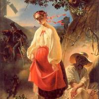 Катерина — виконана на тему однойменної поеми влітку 1842 року в Санкт-Петербурзі.