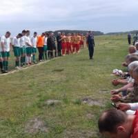 Відкриття турніру з футболу серед ФК «Крупець» та ФК «Підлужжя»