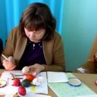 Майстер-класу з написання писанки від Богдани Бабак
