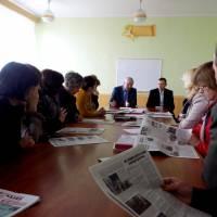 Візит народного депутата Олександра Дехтярчука