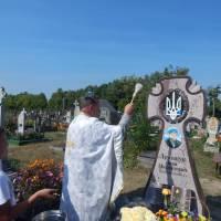 Освячення пам'ятника загиблому воїну АТО Лемещуку Івану Михайловичу