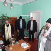 Освячення відділу освіти у Крупецькій ОТГ
