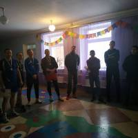 Волейбольний турнір на приз сільського голови