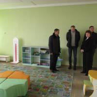 Візит першого заступника голови Сумської облдержадміністрації Олександра Марченка до Краснопільської ОТГ