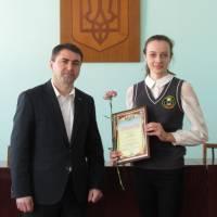 Вручення стипендій Краснопільського селищного голови