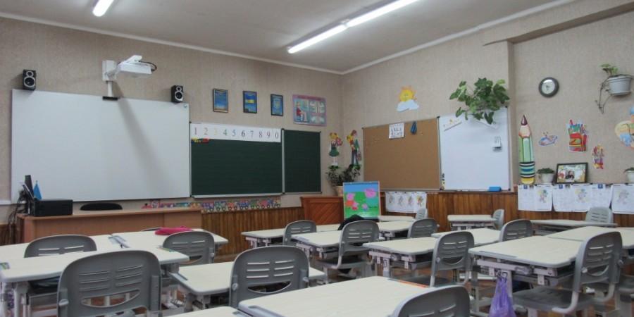 Краснопільська ЗОШ I-III ст., класна кімната початкової ланки