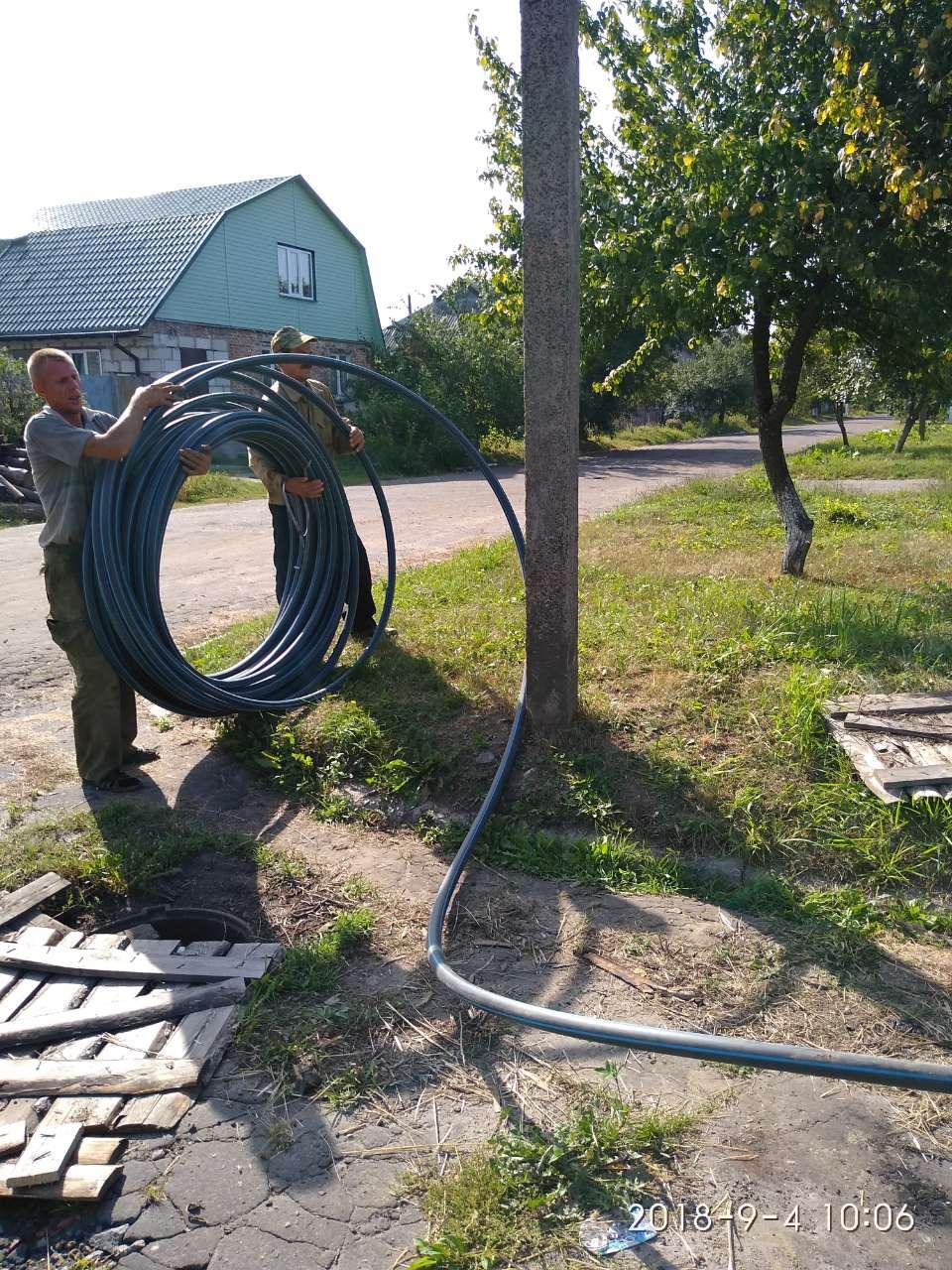 У Ямполі ремонтують водогін