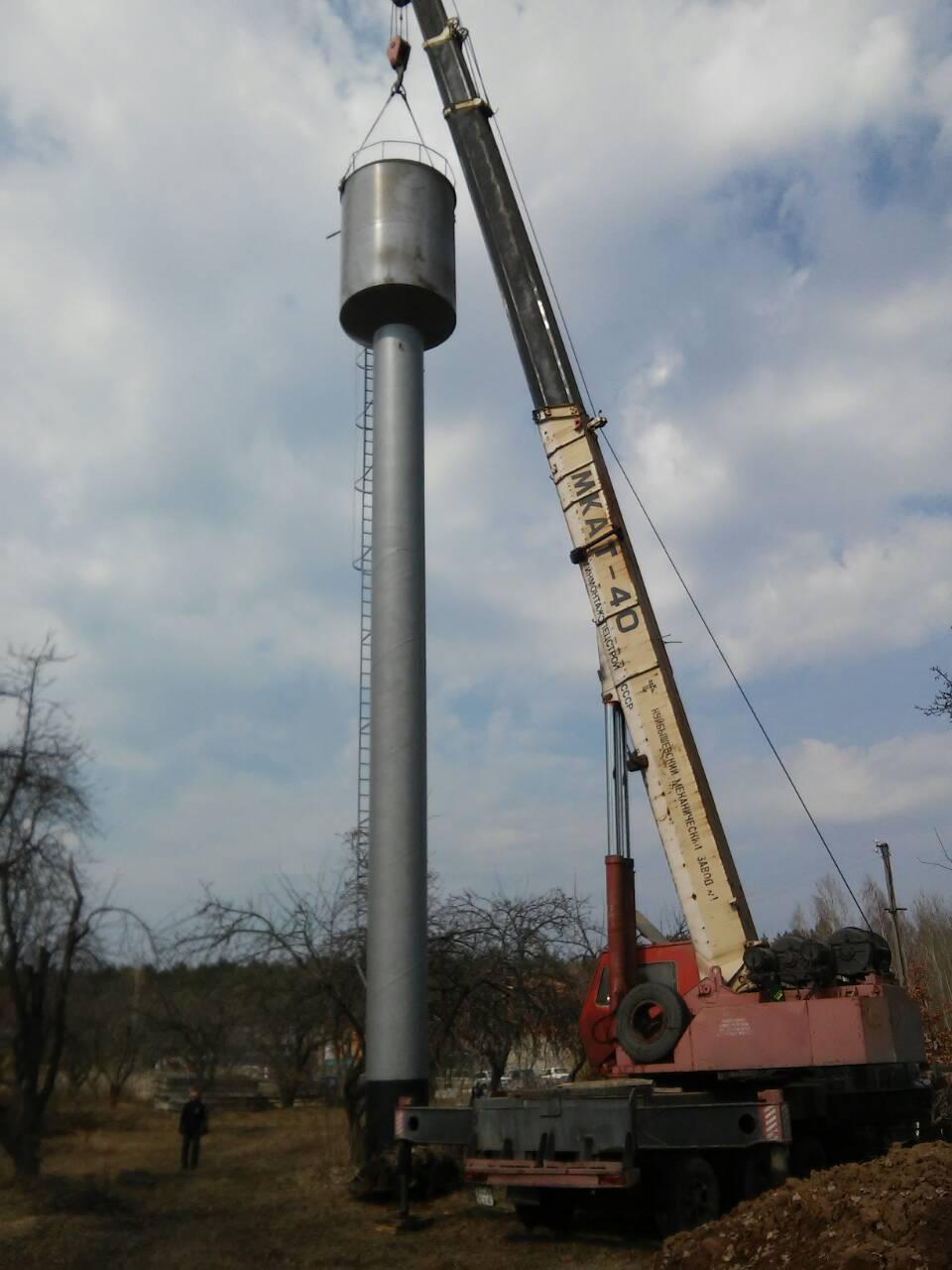 У Привокзальному, що на Ямпільщині, встановили нову башту