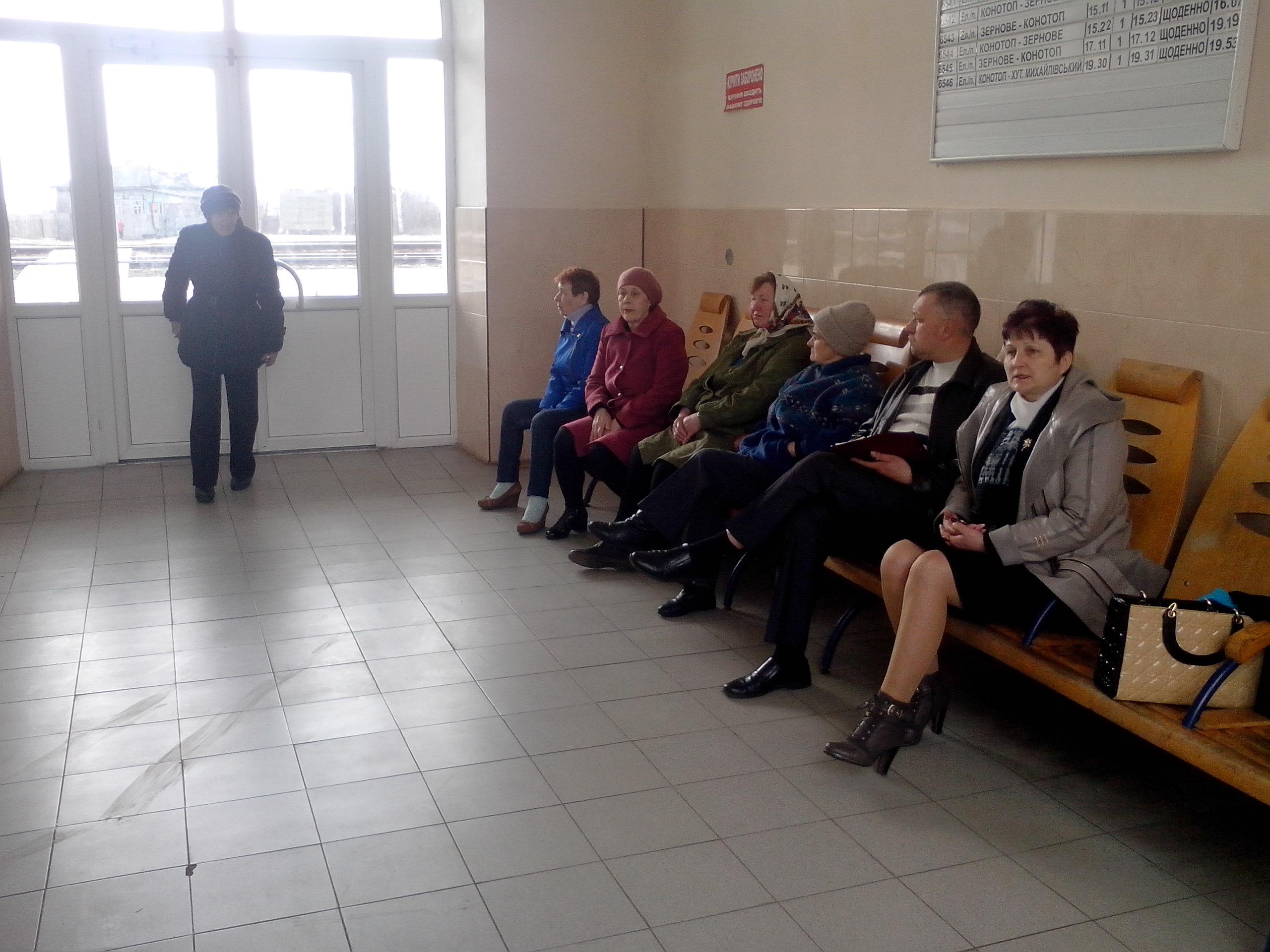 Керівники Ямпільської селищної ради вислухали мешканців Привокзального
