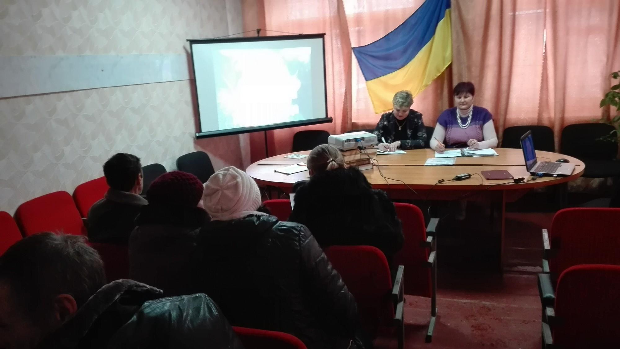Засідання сесії Ямпільської селищної ради