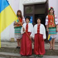 відзначення ДНЯ ДЕРЖАВНОГО ПРАПОРА УКРАЇНИ в Березівській громаді відбулось на базі с. Шевченкове