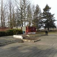 прибирання пам'ятник