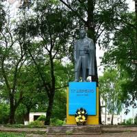 Пам'ятник Т.Г. Шевченку в с. Озерна