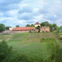 Замок. Південна частина