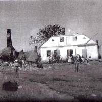 Старі фото. Будинок редакції після пожару в 1938р.