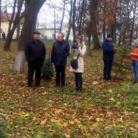 Представники ЗУРЦ Левко Довган, Соломія Саврук, отець Володимир