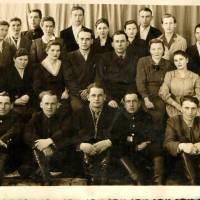 Колектив працівників звязку ~~ 50ті роки.