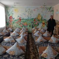Спальна кімната у садочку в с. Целіїв