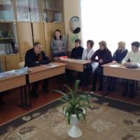 Нарада із педагогічним колективом Целіївської ЗОШ I-II ступенів