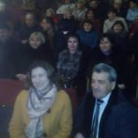На концерті Павла Дворського з його синами!