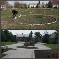 Благоустрій території біля памятника Т.Г.Шевченка