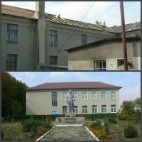 ремонтні роботи по капітальному ремонту покрівлі в  Ілавченській ЗОШ