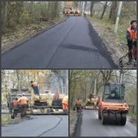 Будівництво дороги в с.Глещава