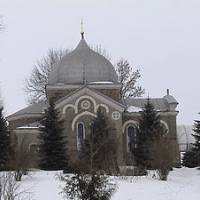 с.Байківці. Церкви святої Параскеви Сербської  1990 року