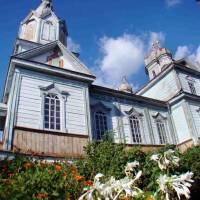 Дерев'яний храм у с.Борщівка