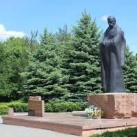 м. Шумськ, Пам'ятник Т.Г. Шевченку
