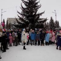 Урочисто відкрили головну ялинку міста Шумськ