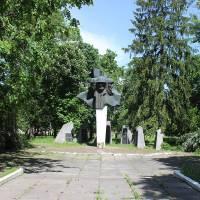 м. Шумськ, Пам'ятник воїнів полеглих у Другій Світовій війні