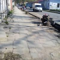 Ремонт тротуарів у смт.Микулинці