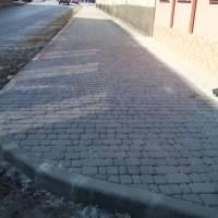 Ремонт тротуарів у смт. Микулинці