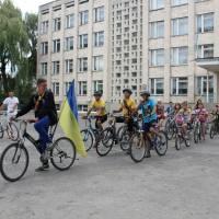 Перший етап велопробігу.