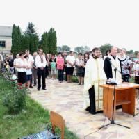 У Лосячі за ініціативи сільського старости Кійовської Галини Юріївни біля християнського комплексу проведено спільну  молитву отцем Іваном Мазуриком т