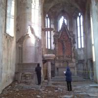 Руїни костелу