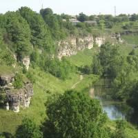 Мальовничий каньйон річки Збруч