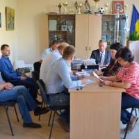Засідання в кабінеті селищного голови
