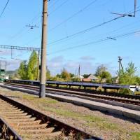 залізнична платформа в Малинівці