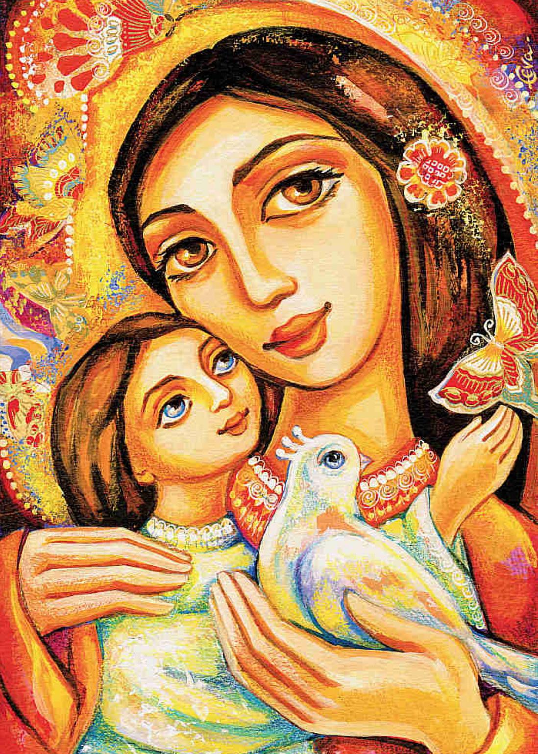 За ініціативою відділу освіти, Конкурс малюнків «Моя матуся»