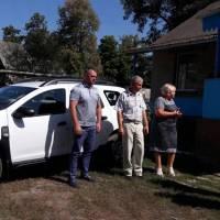 Передача автомобіля для амбулаторії ЗПСМ с. Старовірівка
