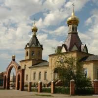 Сахновщина. Церква Покрови Пресвятої Богородиці.