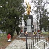 Братська могила в с. Хотімля