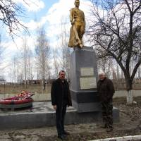 Братська могила в с. Вишневе
