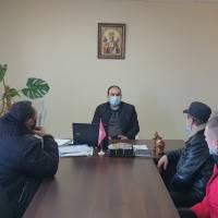 Особистий прийом громадян  Куньєвським сільським головою Нерсисяном Нерсесом Робертовичем